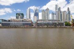 Nuove costruzioni in Puerto Madero a Buenos Aires, Argentina fotografia stock