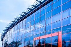 Nuove finestre del centro di affari fotografia stock