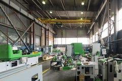 Nuove macchine metallurgiche Immagini Stock