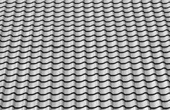 Nuove mattonelle del metallo del tetto Fotografia Stock Libera da Diritti