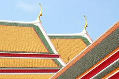 Nuove mattonelle di tetto fotografie stock libere da diritti