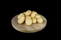 Nuove patate dell'ayrshire Fotografie Stock