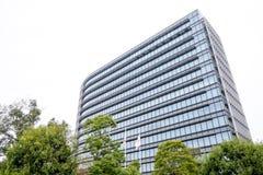 Nuove sedi di Toyota Motor Corporation che costruiscono a Nagoya Immagini Stock