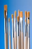 Nuove spazzole Fotografie Stock Libere da Diritti