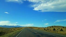nuove strade di Zelanda immagini stock libere da diritti