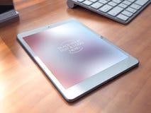 Nuove tecnologie e dispositivi di media da lavorare con successo Fotografia Stock