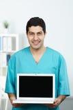 Nuove tecnologie nella medicina Fotografia Stock Libera da Diritti