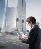 Nuove tecnologie per il commercio Fotografia Stock Libera da Diritti