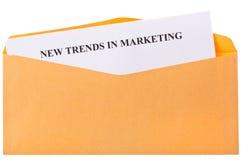 Nuove tendenze relative all'introduzione sul mercato Immagine Stock
