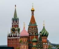 Nuove viste del Cremlino di Mosca Fotografia Stock