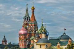 Nuove viste del Cremlino di Mosca Fotografie Stock