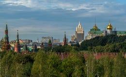 Nuove viste del Cremlino di Mosca Immagini Stock Libere da Diritti