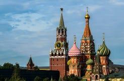 Nuove viste del Cremlino di Mosca Fotografie Stock Libere da Diritti