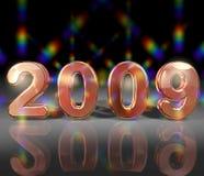 Nuovi anni 2009   Fotografie Stock