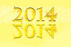 2014 nuovi anni royalty illustrazione gratis