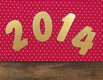 2014 nuovi anni Fotografia Stock