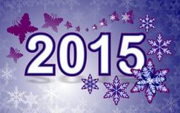 2015 nuovi anni Fotografia Stock Libera da Diritti