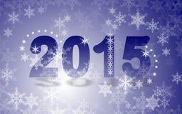 2015 nuovi anni Fotografie Stock Libere da Diritti
