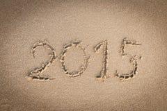 Nuovi anni 2015 Immagini Stock