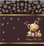 2016 nuovi anni Immagini Stock Libere da Diritti