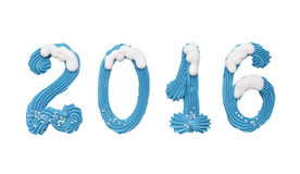 2016 nuovi anni Fotografia Stock