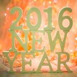 2016 nuovi anni Fotografie Stock