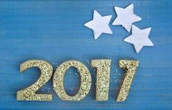2017 nuovi anni Fotografie Stock