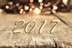 2017 nuovi anni Fotografia Stock