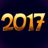 2017 nuovi anni Fotografia Stock Libera da Diritti