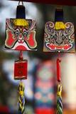 Nuovi anni cinesi di decorazioni Immagine Stock