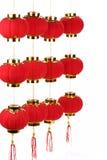 Nuovi anni cinesi di laterns Fotografia Stock Libera da Diritti