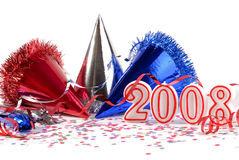 Nuovi anni di celebrazione Immagine Stock