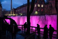Nuovi anni di EVE in Svezia Fotografia Stock Libera da Diritti