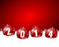2014 nuovi anni di illustrazione Fotografia Stock