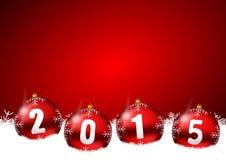 2015 nuovi anni di illustrazione Fotografia Stock
