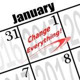 2017 nuovi anni di resolutuin Immagine Stock