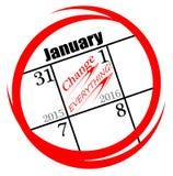 2016 nuovi anni di risoluzione Fotografie Stock Libere da Diritti