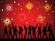 Nuovi anni di vigilia 2011 Immagini Stock Libere da Diritti