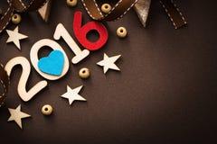2016 nuovi anni felice Fotografie Stock