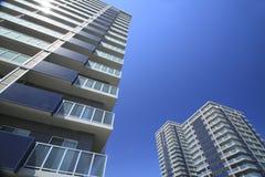 Nuovi appartamenti Immagini Stock