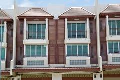 Nuovi appartamenti moderni fotografie stock
