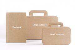 Nuovi borse e libri Fotografie Stock