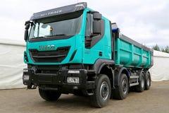 Nuovi camion resistente dell'euro 6 di Iveco Trakker 500 Fotografie Stock