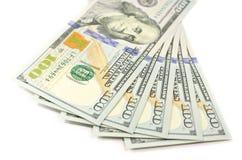 Nuovi 100 $ di contanti Fotografie Stock
