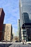 Nuovi edifici per uffici moderni a Tokyo Giappone immagine stock libera da diritti