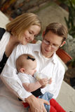 Nuovi genitori Fotografia Stock