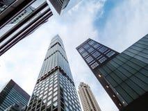 Nuovi grattacieli NYC Fotografia Stock
