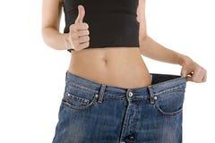 Nuovi jeans di bisogno! fotografie stock