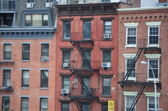 Nuovi Jork edifici di Manhattan Immagine Stock