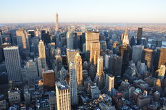 Nuovi Jork edifici di Manhattan Fotografie Stock